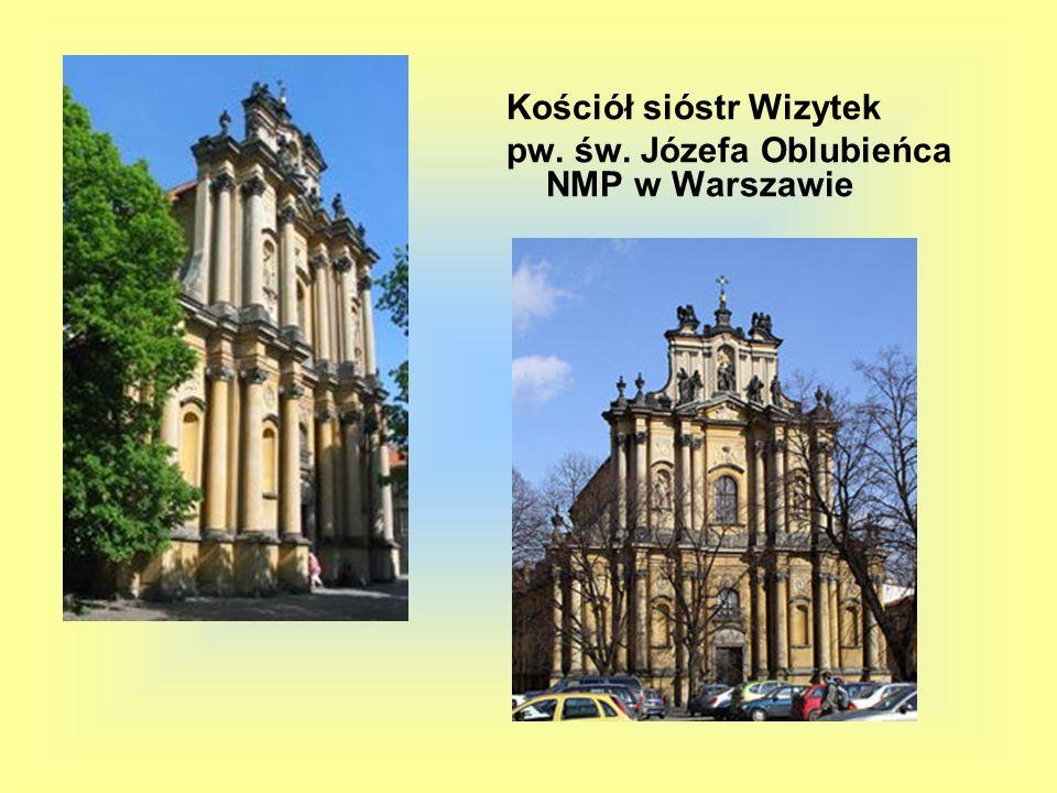 Kościół sióstr Wizytek pw. św. Józefa Oblubieńca NMP w Warszawie