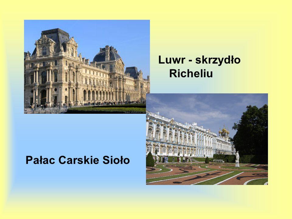Pałac Carskie Sioło Luwr - skrzydło Richeliu