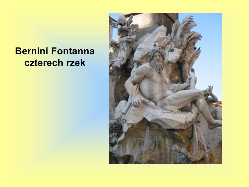 Bernini Fontanna czterech rzek
