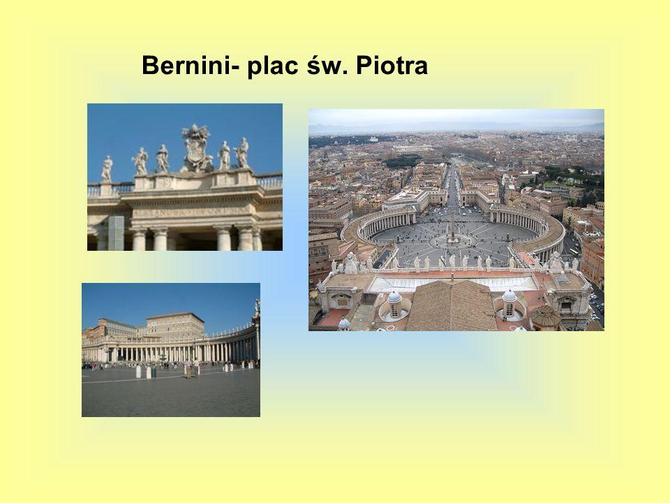 Bernini- plac św. Piotra
