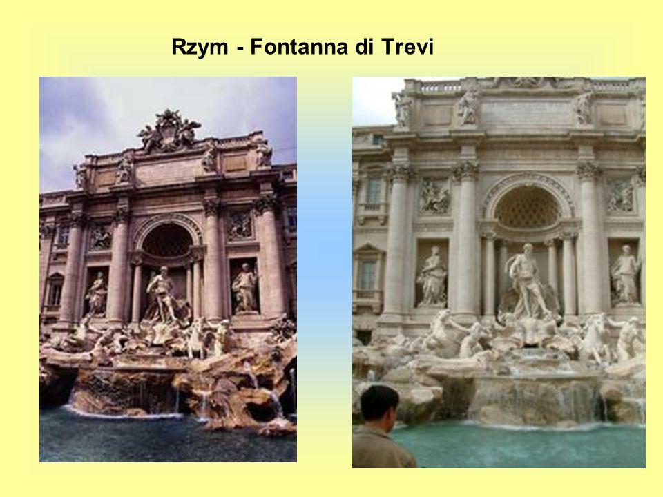 Rzym - Fontanna di Trevi
