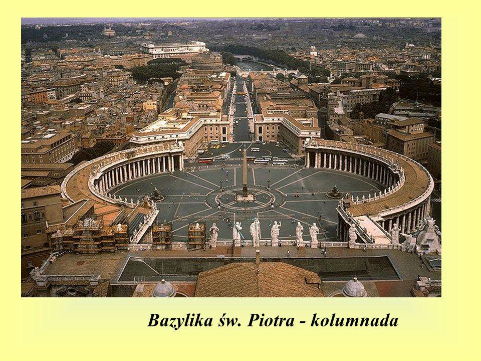 Bazylika św. Piotra - kolumnada