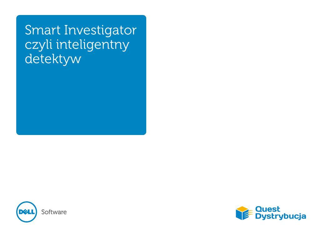 Inteligentny detektyw Skuteczne zarządzanie bezpieczeństwem Integracja systemów zabezpieczających – zapory sieciowe, – wielostopniowe mechanizmy uwierzytelniania, – kontrola dostępu, – monitorowanie aktywności użytkowników.
