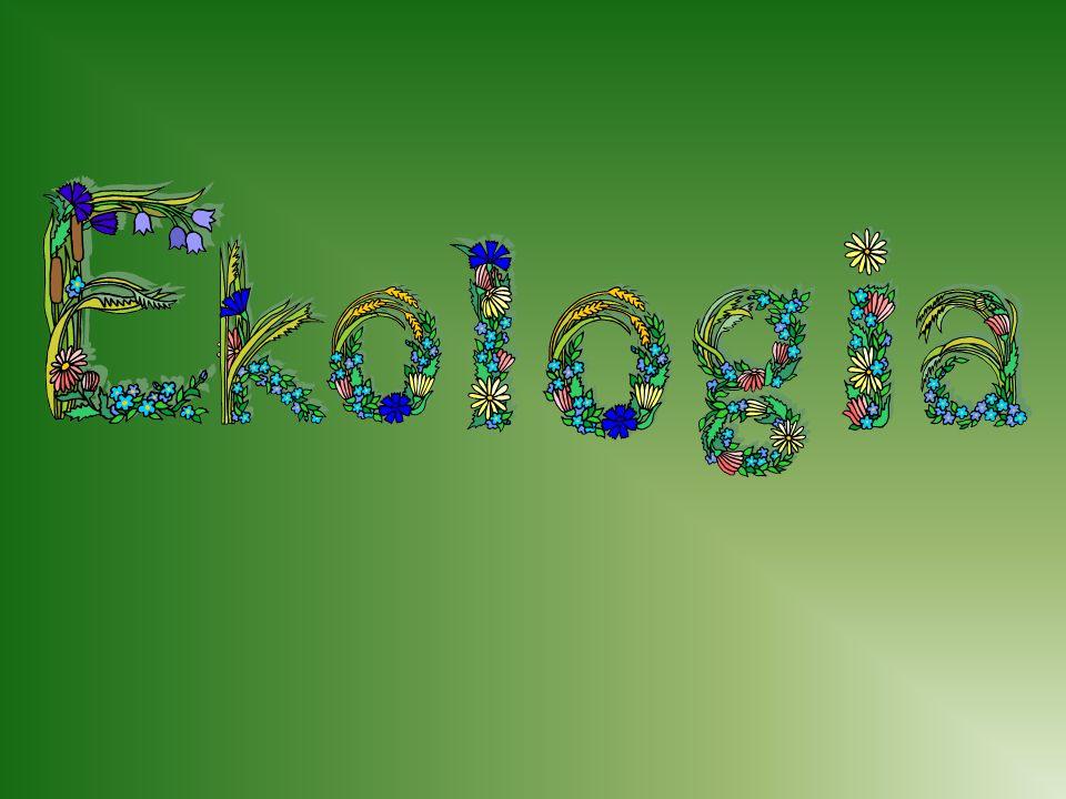 Co to jest ekologia??.