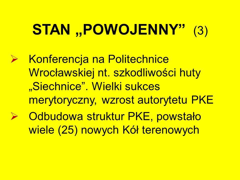 """STAN """"POWOJENNY (3)  Konferencja na Politechnice Wrocławskiej nt."""