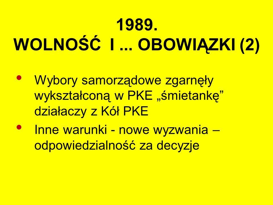 1989. WOLNOŚĆ I...