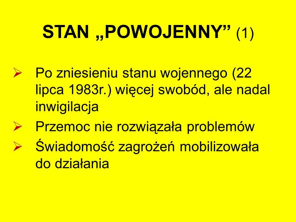 """STAN """"POWOJENNY (2)  Klub coraz częściej zajmował stanowiska, wskazywał na problemy, protestował i nagłaśniał działania  Batalia o zamknięcie huty chromu """"Siechnice ; informacje, teksty, ulotki, """"czarne marsze (WiP)"""
