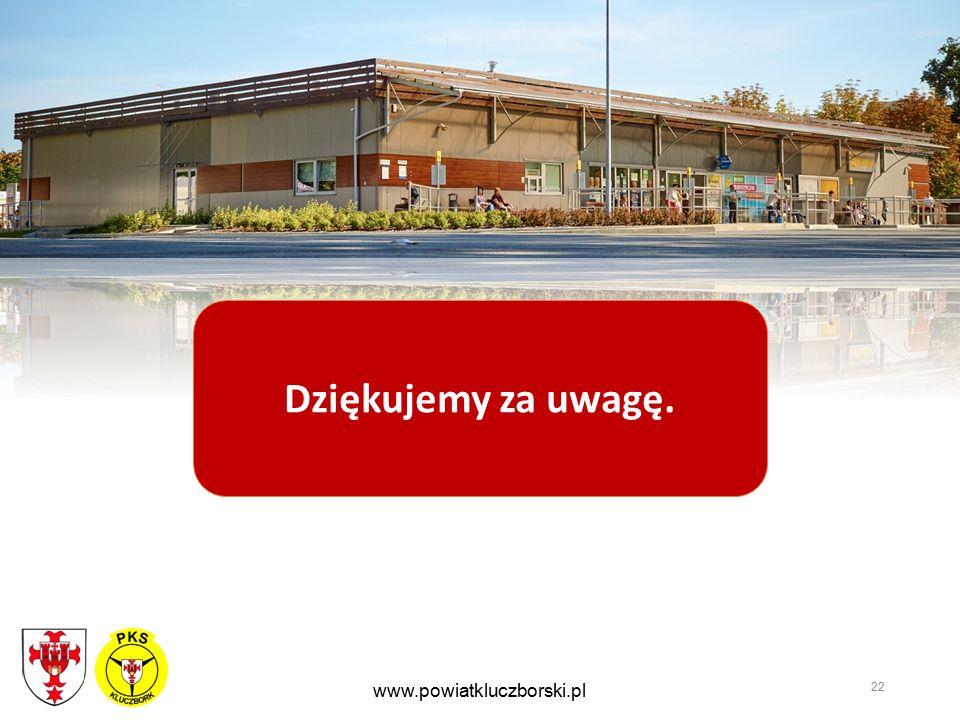 22 www.powiatkluczborski.pl Dziękujemy za uwagę.
