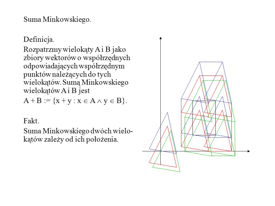 Załóżmy, że obszar R ma stałą liczbę wierzchołków, a obszar D ma n wierz- chołków.