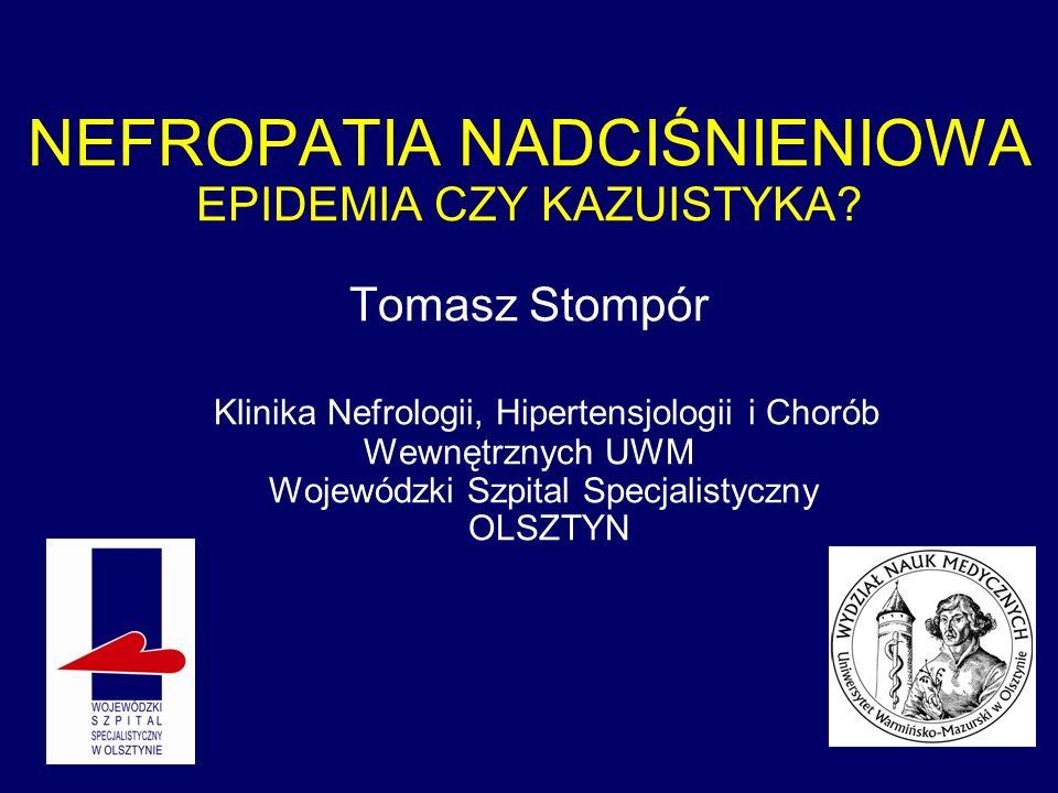 SPRAWDZAM … Zariff L, et al.Nephrol Dial Transplant.