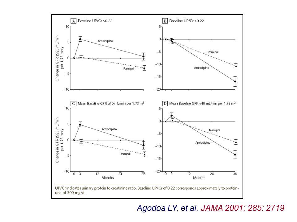 Agodoa LY, et al. JAMA 2001; 285: 2719
