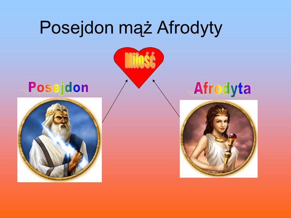 Posejdon mąż Afrodyty