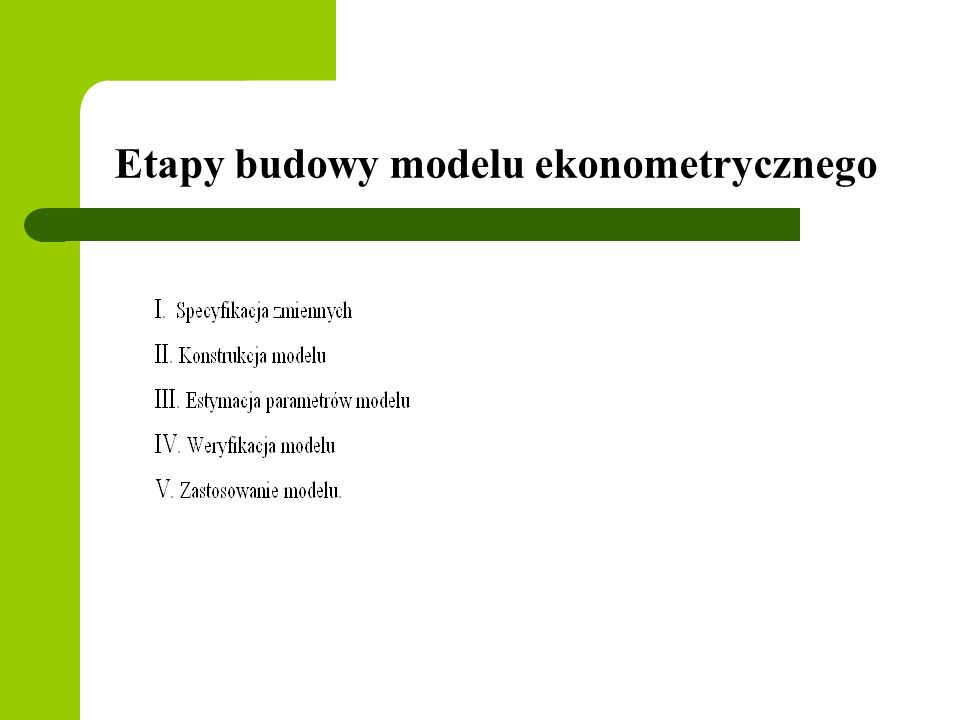 Model opisujący kształtowanie dywidendy