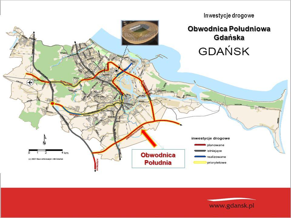 ObwodnicaPołudnia Inwestycje drogowe Obwodnica Południowa Gdańska