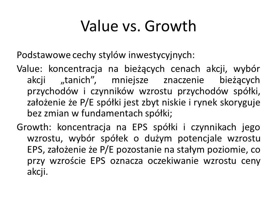 Value vs.