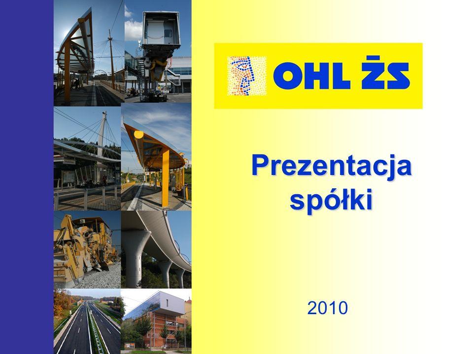 Prezentacja spółki 2010