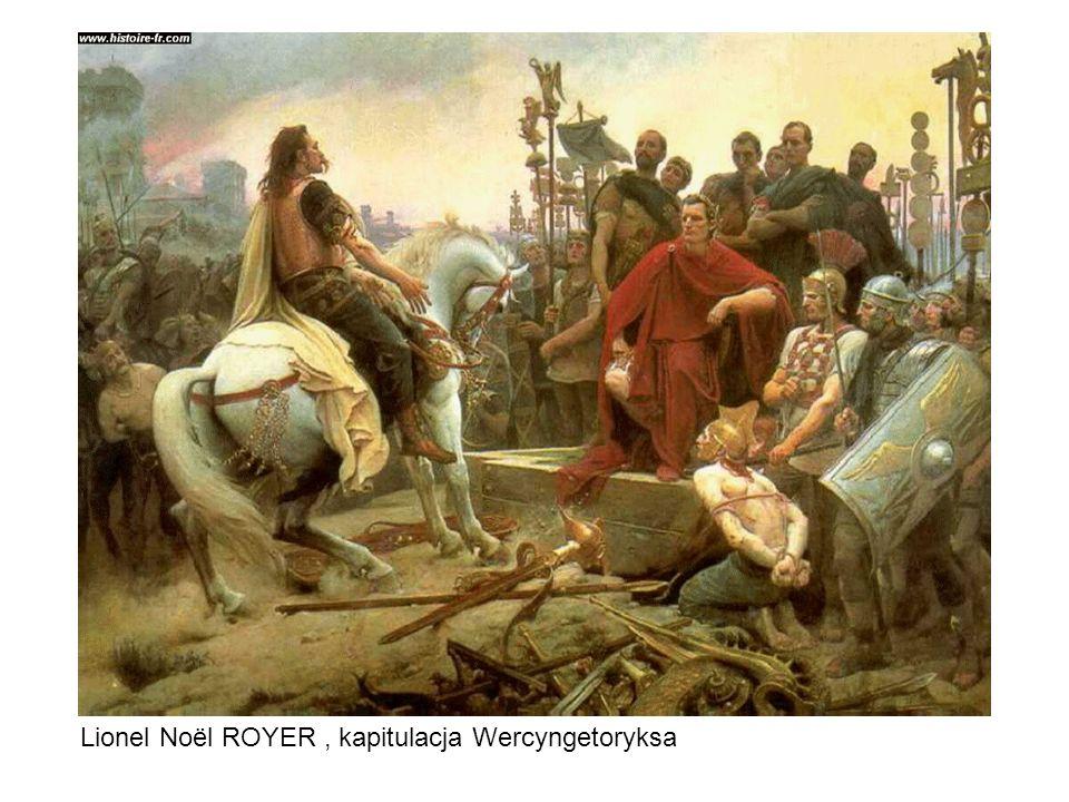 Lionel Noël ROYER, kapitulacja Wercyngetoryksa