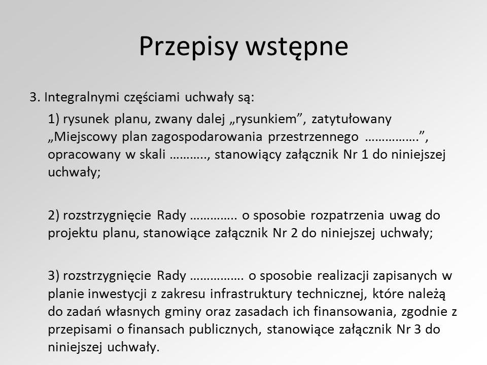 Przepisy wstępne 3.