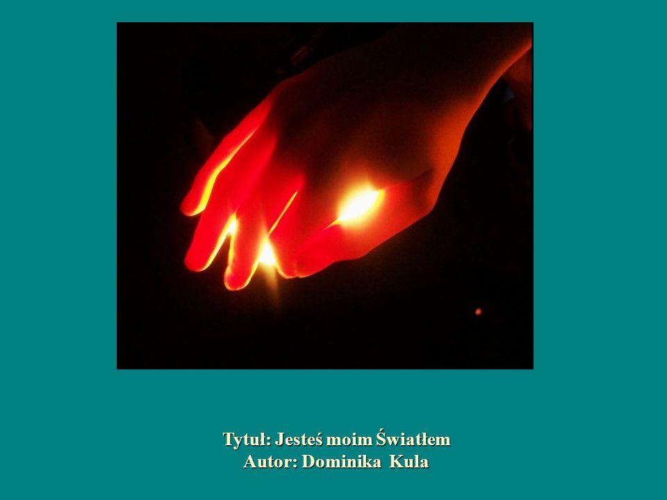 Tytuł: Jesteś moim Światłem Autor: Dominika Kula