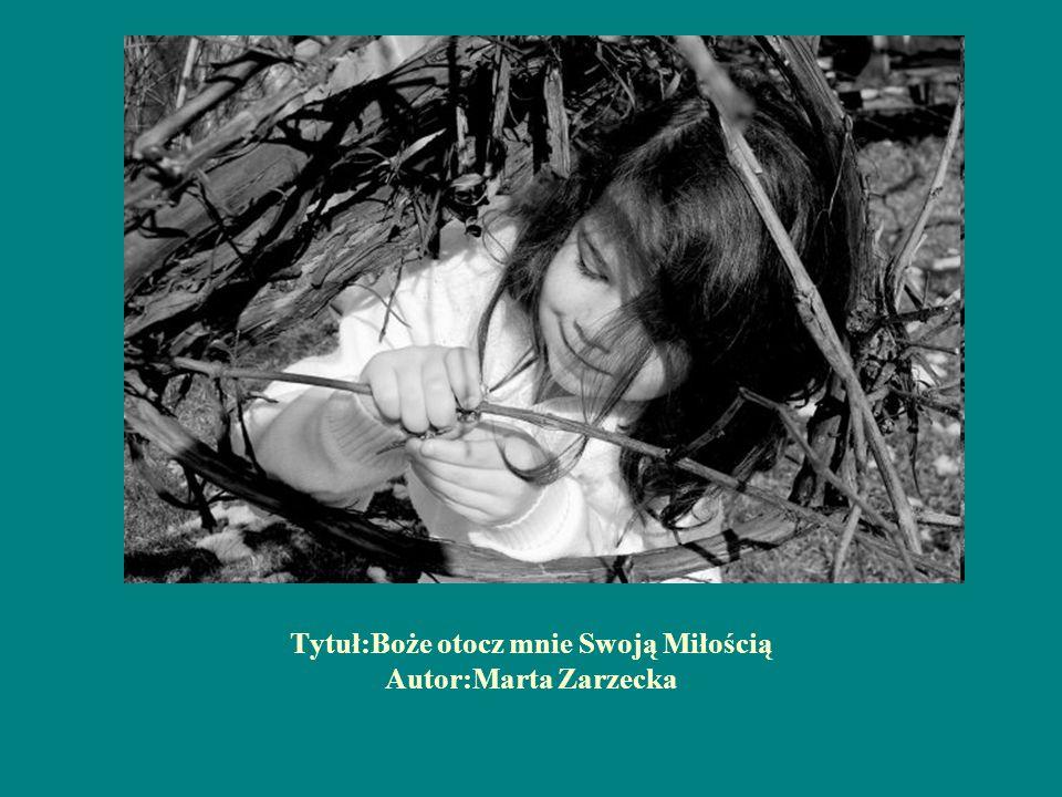 Tytuł:Boże otocz mnie Swoją Miłością Autor:Marta Zarzecka