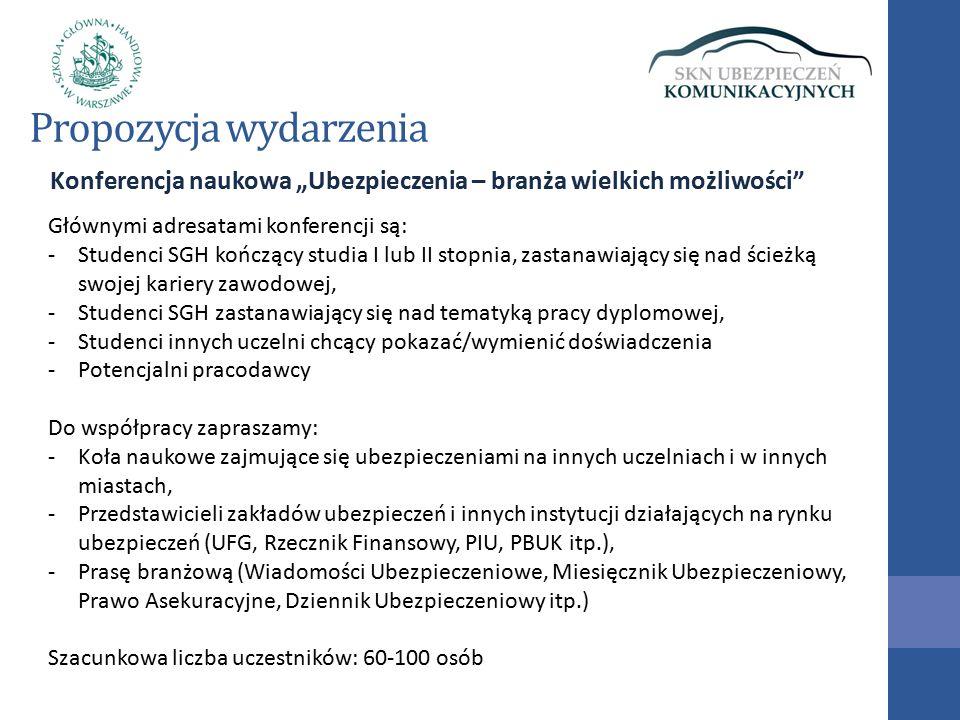 Program konferencji Od 9.30 Rejestracja uczestników 10.00 – 12.00 Powitanie uczestników, prezentacja sponsorów i gości honorowych Panel I: Perspektywy branży ubezpieczeniowej w Polsce - wystąpienia ekspertów (przede wszystkim głównych sponsorów).