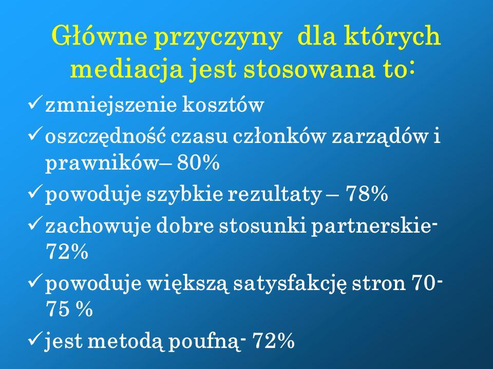 2. Przewidywania Wstępna analiza dotycząca tego, jakie są słabe i mocne punkty sprawy