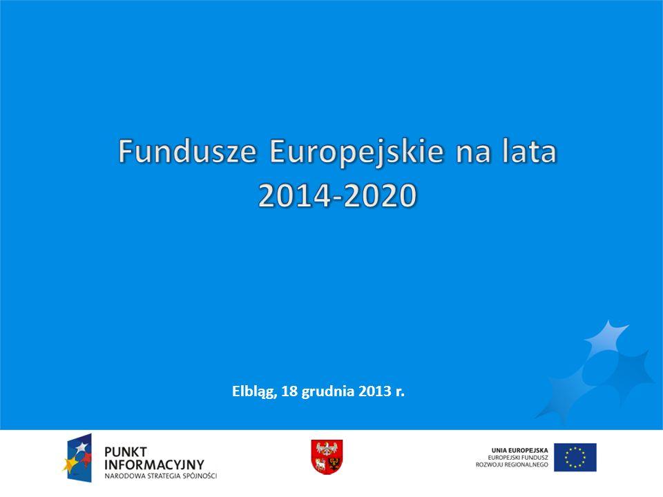Październik 2011 – pakiet legislacyjny Czerwiec 2011 – propozycje budżetowe Marzec 2012 - Wspólne Ramy Strategiczne Styczeń 2013 - Założenia polskiej Umowy Partnerstwa