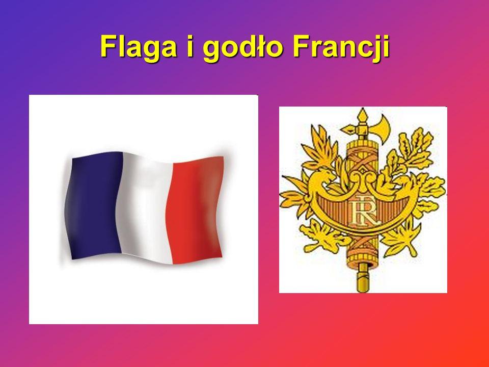 Flaga i godło Francji