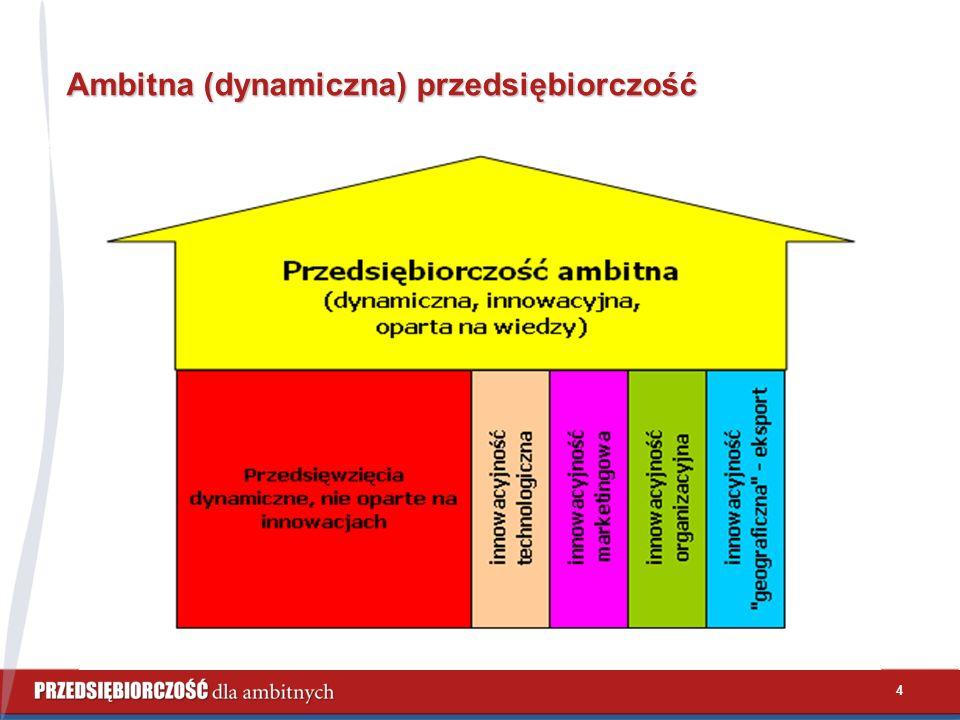 4 Ambitna (dynamiczna) przedsiębiorczość