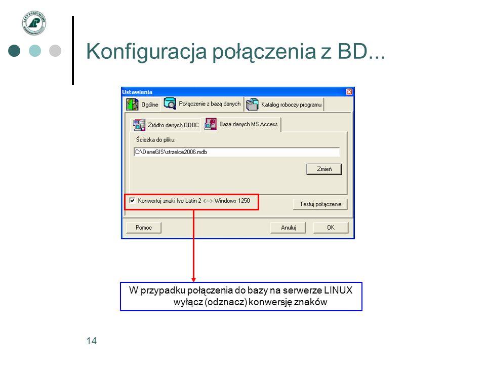 14 Konfiguracja połączenia z BD...