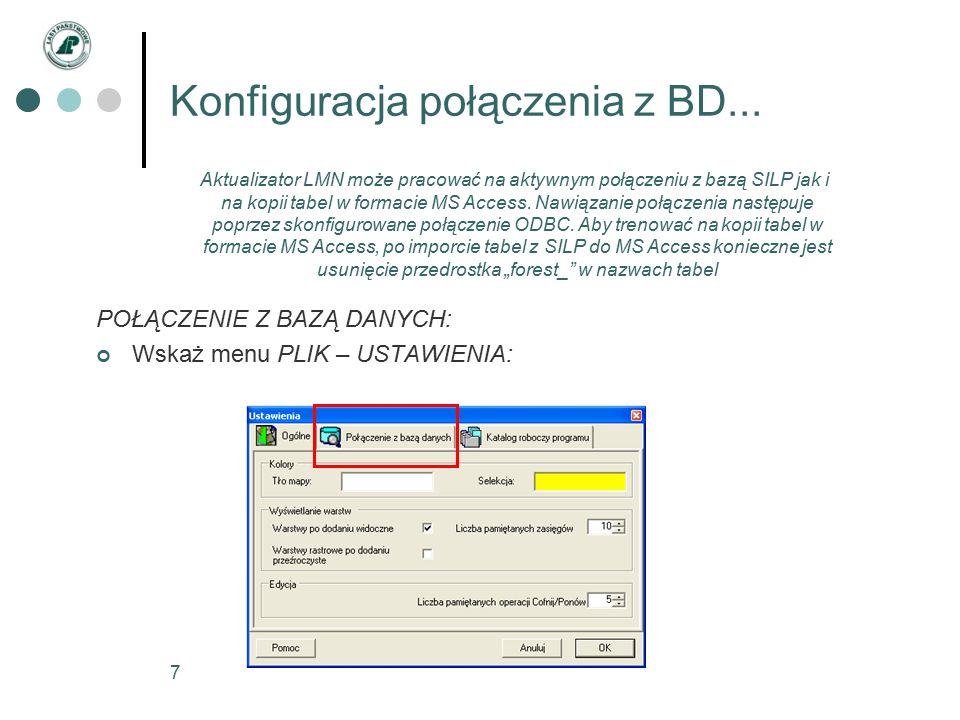 8 Konfiguracja połączenia z BD...