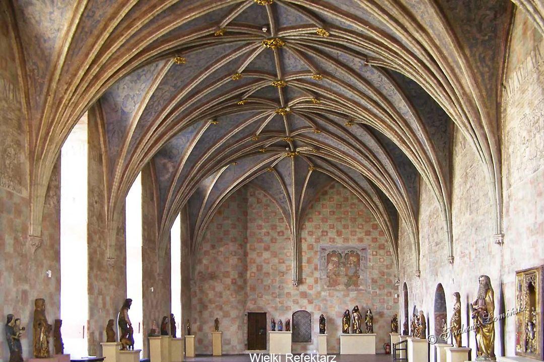 Gotyckie piwnice zamku