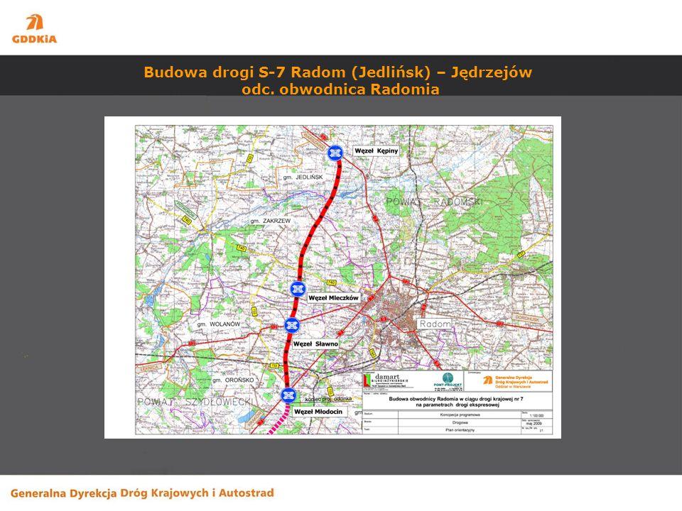 Budowa drogi S-7 Radom (Jedlińsk) – Jędrzejów odc. obwodnica Radomia