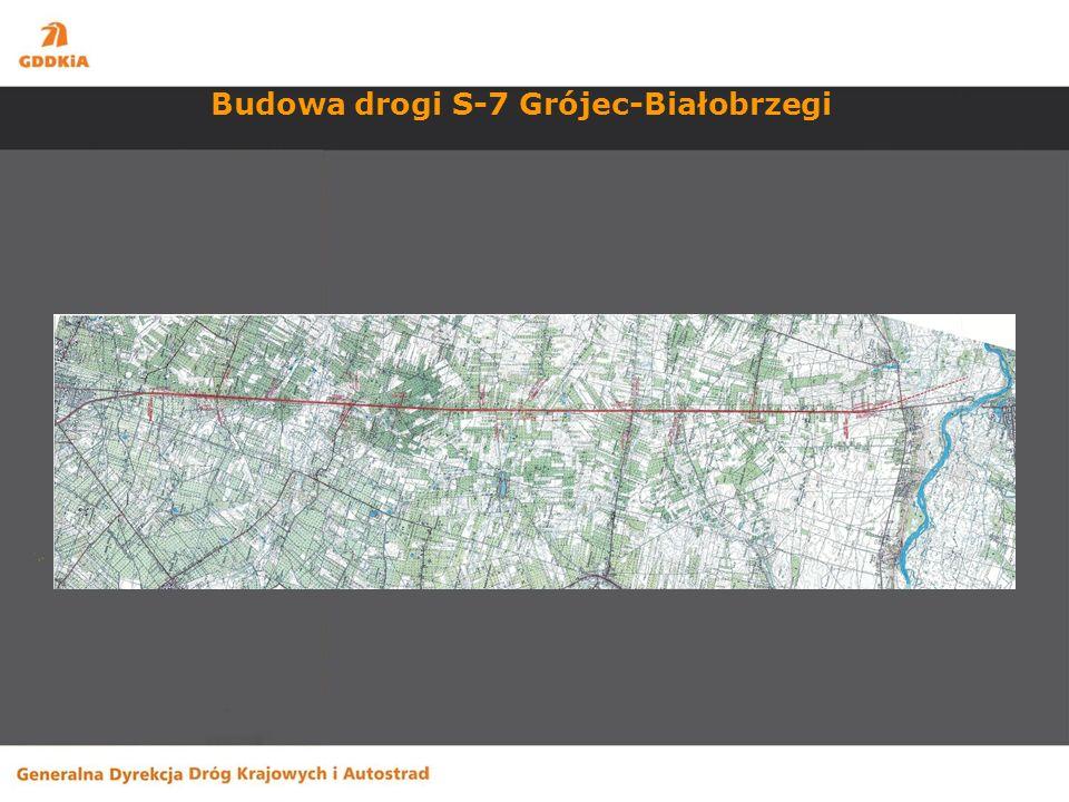 Budowa drogi S-7 Grójec-Białobrzegi