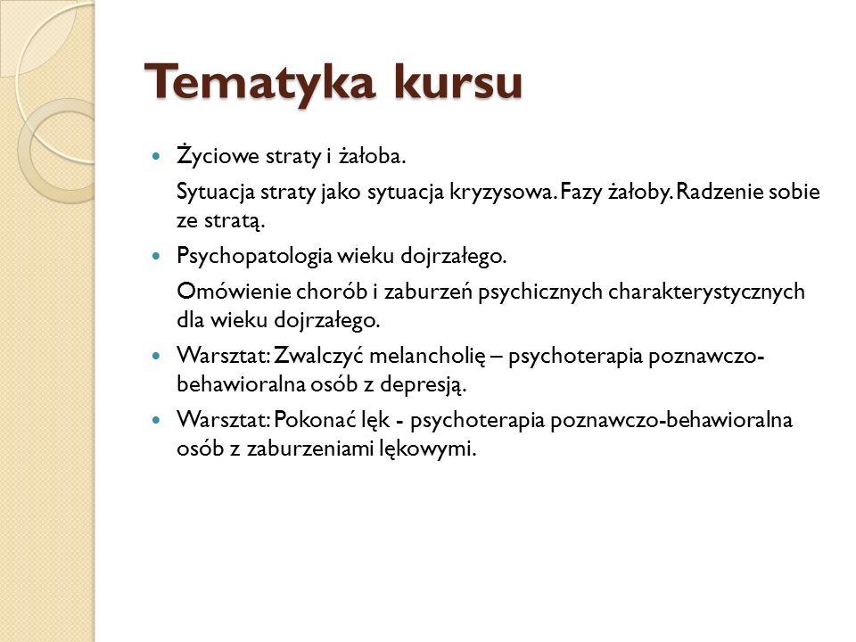 Warunki zaliczenia 2 nieobecności Aktywność na zajęciach Przygotowanie referatu