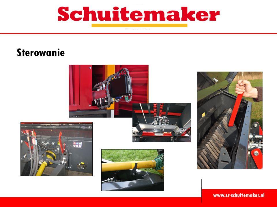 www.sr-schuitemaker.nl Sterowanie