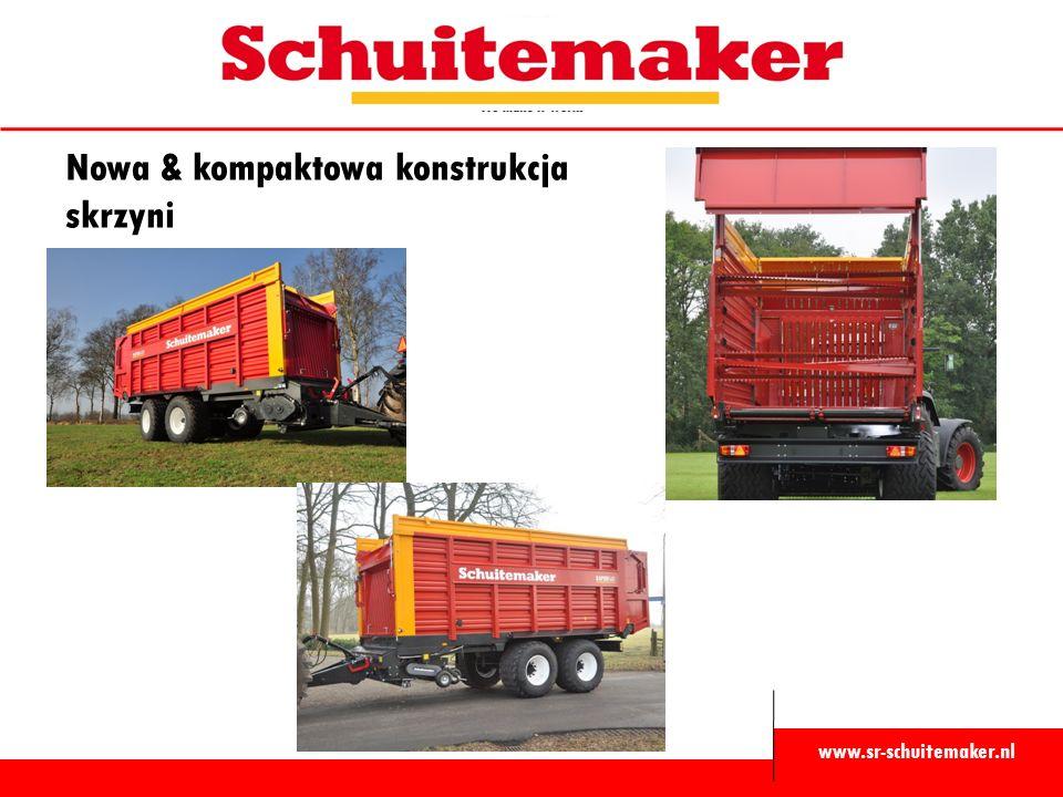 www.sr-schuitemaker.nl Nowa & kompaktowa konstrukcja skrzyni