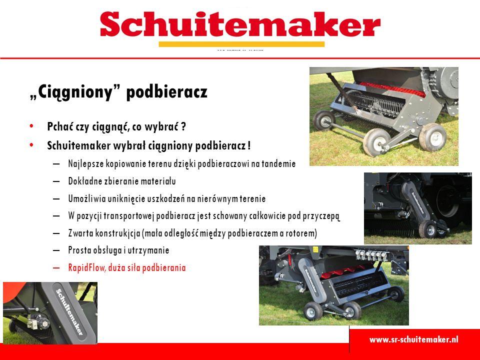 """www.sr-schuitemaker.nl """"Ciągniony"""" podbieracz Pchać czy ciągnąć, co wybrać ? Schuitemaker wybrał ciągniony podbieracz ! – Najlepsze kopiowanie terenu"""