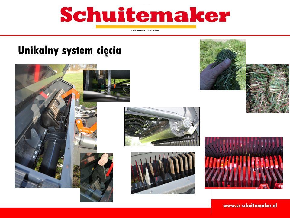www.sr-schuitemaker.nl Unikalny system cięcia