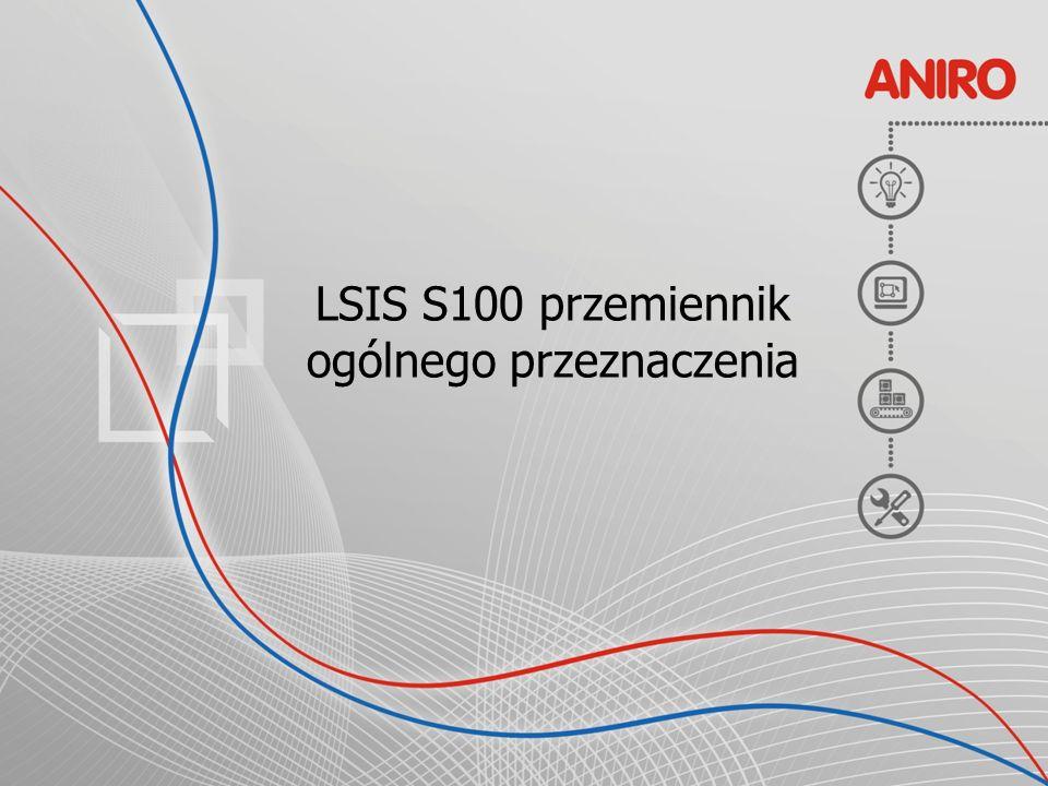 LSIS S100 przemiennik ogólnego przeznaczenia