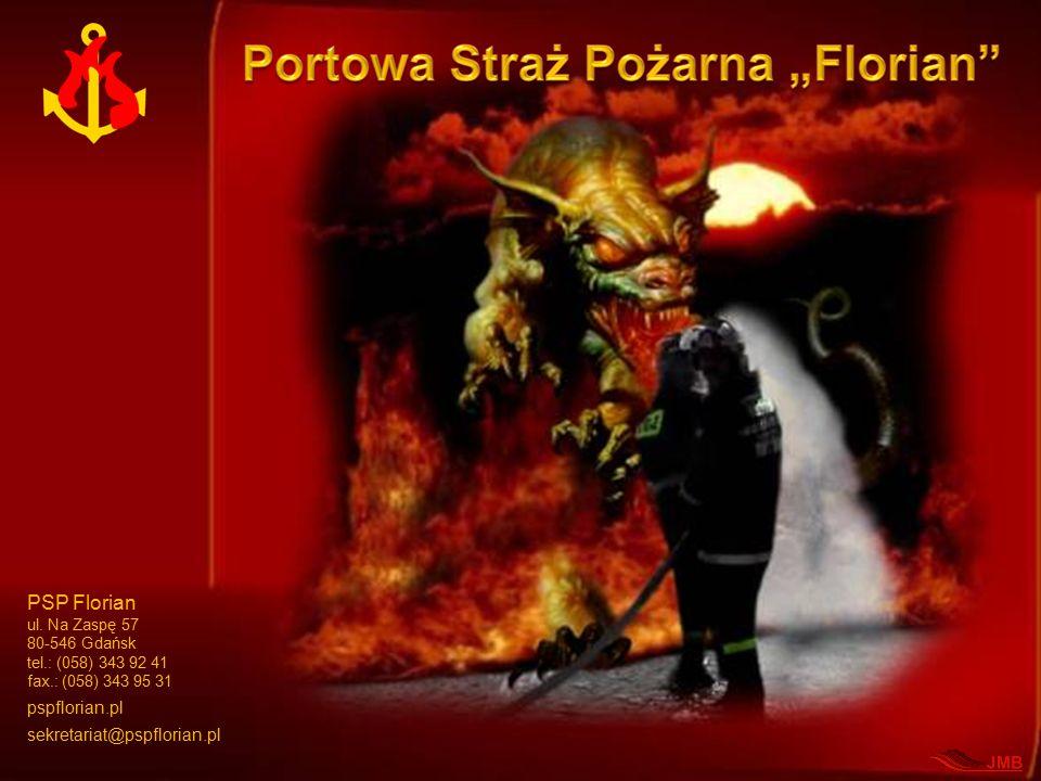 PSP Florian ul. Na Zaspę 57 80-546 Gdańsk tel.: (058) 343 92 41 fax.: (058) 343 95 31 pspflorian.pl sekretariat@pspflorian.pl