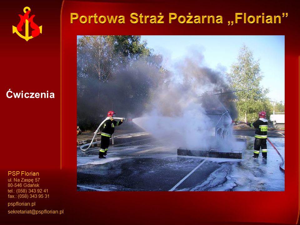 Ćwiczenia PSP Florian ul.