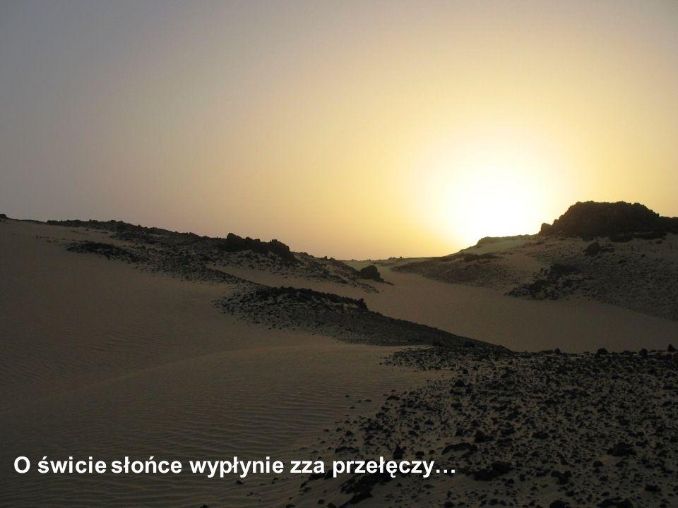 Słońce już nisko nad horyzontem, wkrótce, niczym przysłowiowe egipskie, zapadną ciemności