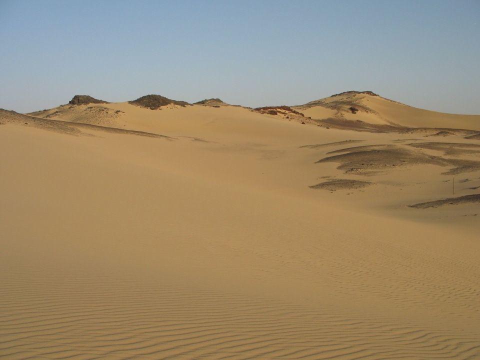 Wjeżdżamy na tzw.Czarną Saharę.
