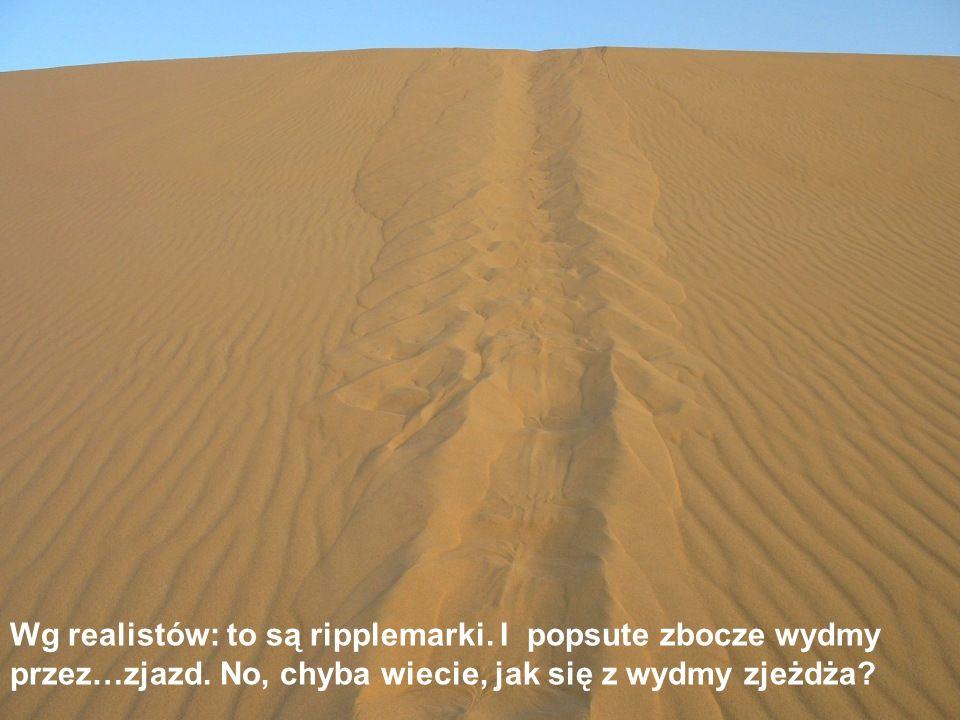 No to skąd wylewa się ta rzeka piasku? To jedna z wielu tajemnic Sahary.
