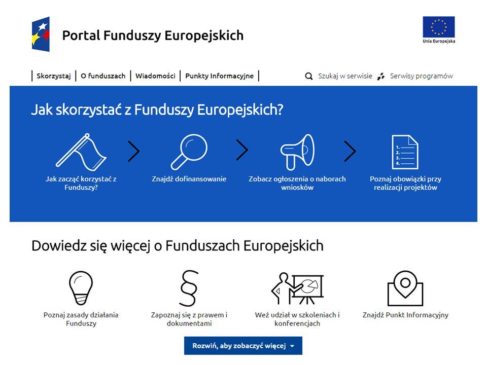 Projekt jest współfinansowany przez Unię Europejską z Funduszu Spójności w ramach Programu Operacyjnego Pomoc Techniczna 2014-2020 33