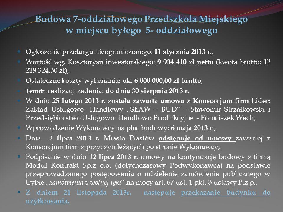 Przebudowa ul.