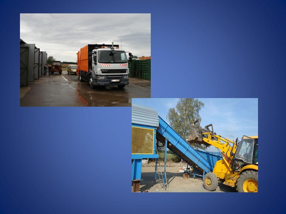 Instalacje ZGK do odzysku lub innego niż składowanie unieszkodliwiania odpadów komunalnych  Linia sortownicza o wydajności 6000 Mg/a z możliwością rozbudowy,  Linia kompostownicza o wydajności 900 Mg/a z możliwością rozbudowy,  Linia do rozdrabniania gruzu budowlanego,  Linia do demontażu odpadów wielkogabarytowych,  Mobilne sito obrotowe do przesiewania kompostu i odpadów zmieszanych,  Przerzucarka boczna do kompostu,  Rozdrabniacz gałęzi,