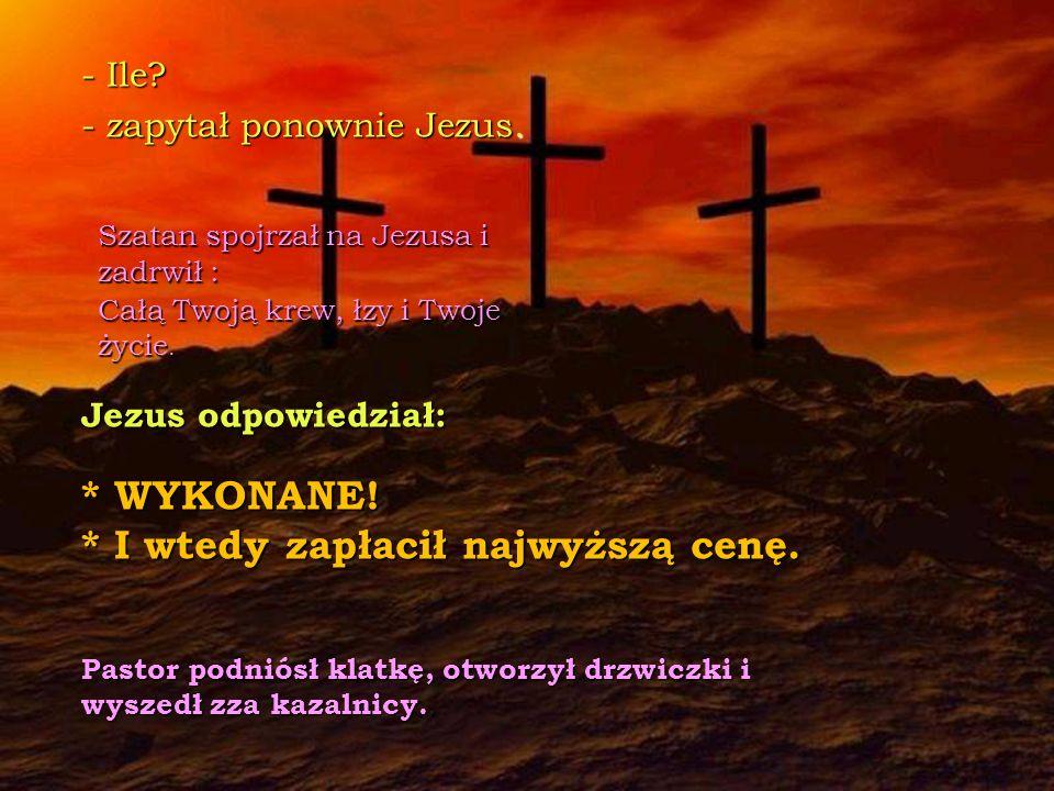 - A co zrobisz kiedy skończysz. - zapytał Jezus.