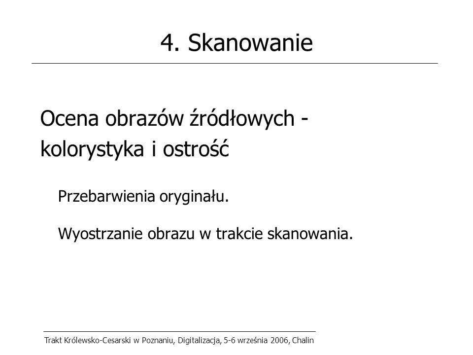 Trakt Królewsko-Cesarski w Poznaniu, Digitalizacja, 5-6 września 2006, Chalin 4.